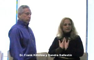 Dr. Frank Kinslow y Sandra Ballestín